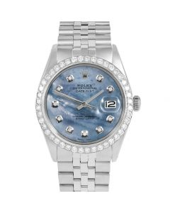 Rolex Datejust 36 mm Stainless Steel 1601-SS-BL5252-CD