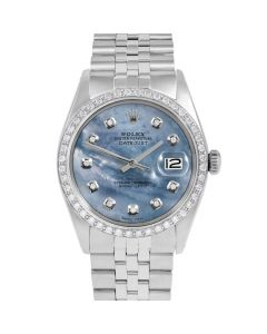 Rolex Datejust 36 mm Stainless Steel 1601-SS-BL5212-CD