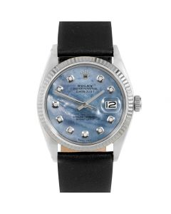 Rolex Datejust 36 mm Stainless Steel 1601-SS-BL52341-CD