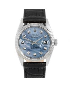 Rolex Datejust 36 mm Stainless Steel 1601-SS-BL52342-CD