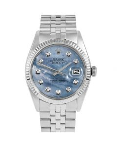 Rolex Datejust 36 mm Stainless Steel 1601-SS-BL5232-CD