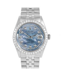 Rolex Datejust 36 mm Stainless Steel 1601-SS-BL5552-CD