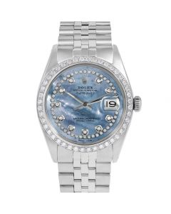 Rolex Datejust 36 mm Stainless Steel 1601-SS-BL5512-CD