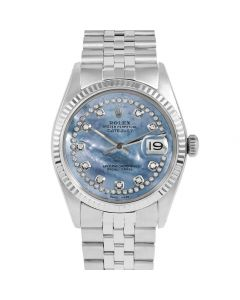 Rolex Datejust 36 mm Stainless Steel 1601-SS-BL5532-CD