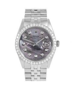 Rolex Datejust 36 mm Stainless Steel 1601-SS-B5252-CD