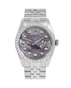 Rolex Datejust 36 mm Stainless Steel 1601-SS-B5212-CD