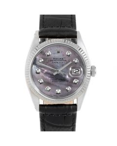 Rolex Datejust 36 mm Stainless Steel 1601-SS-B52342-CD