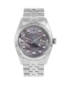Rolex Datejust 36 mm Stainless Steel 1601-SS-B5232-CD