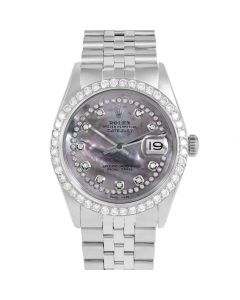 Rolex Datejust 36 mm Stainless Steel 1601-SS-B5552-CD