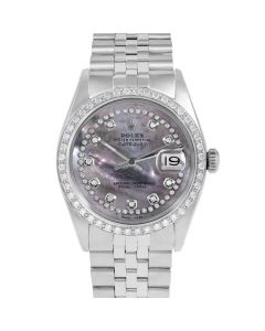 Rolex Datejust 36 mm Stainless Steel 1601-SS-B5512-CD