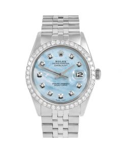 Rolex Datejust 36 mm Stainless Steel 1601-SS-LB5252-CD