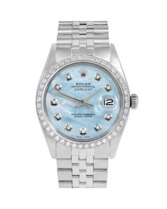 Rolex Datejust 36 mm Stainless Steel 1601-SS-LB5212-CD