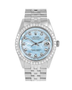 Rolex Datejust 36 mm Stainless Steel 1601-SS-LB5552-CD