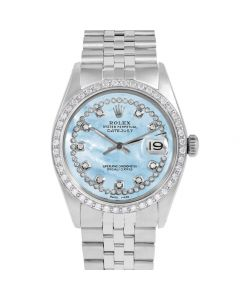 Rolex Datejust 36 mm Stainless Steel 1601-SS-LB5512-CD