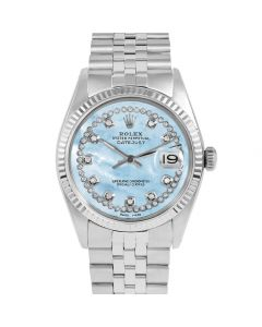 Rolex Datejust 36 mm Stainless Steel 1601-SS-LB5532-CD