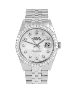 Rolex Datejust 36 mm Stainless Steel 1601-SS-5252-CD