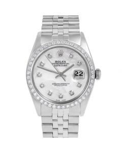 Rolex Datejust 36 mm Stainless Steel 1601-SS-5212-CD