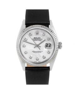 Rolex Datejust 36 mm Stainless Steel 1601-SS-52341-CD