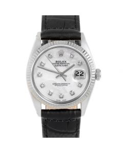 Rolex Datejust 36 mm Stainless Steel 1601-SS-52342-CD