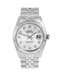 Rolex Datejust 36 mm Stainless Steel 1601-SS-5232-CD