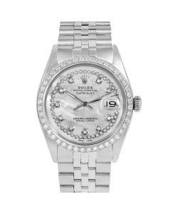 Rolex Datejust 36 mm Stainless Steel 1601-SS-5512-CD