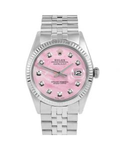 Rolex Datejust 36 mm Stainless Steel 1601-SS-P5232-CD