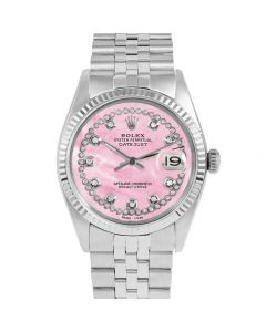 Rolex Datejust 36 mm Stainless Steel 1601-SS-P5532-CD
