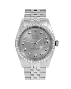 Rolex Datejust 36 mm Stainless Steel 1601-SS-7212-CD