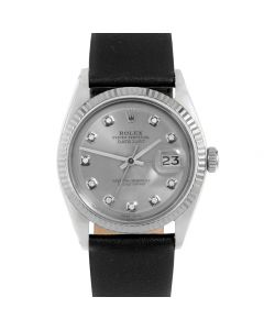 Rolex Datejust 36 mm Stainless Steel 1601-SS-72341-CD