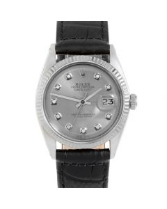 Rolex Datejust 36 mm Stainless Steel 1601-SS-72342-CD