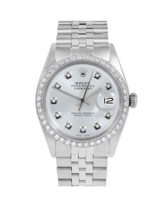 Rolex Datejust 36 mm Stainless Steel 1601-SS-8212-CD