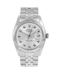 Rolex Datejust 36 mm Stainless Steel 1601-SS-8232-CD