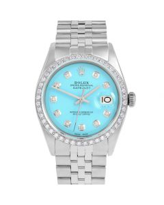 Rolex Datejust 36 mm Stainless Steel 1601-SS-T212-CD