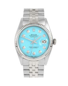 Rolex Datejust 36 mm Stainless Steel 1601-SS-T232-CD