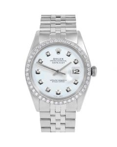 Rolex Datejust 36 mm Stainless Steel 1601-SS-9212-CD