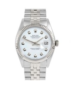 Rolex Datejust 36 mm Stainless Steel 1601-SS-9232-CD