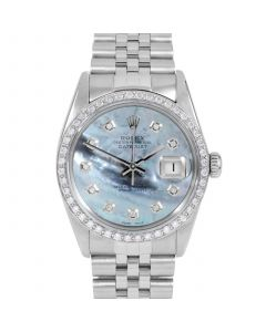 Rolex Datejust 36 mm Stainless Steel 16014-BL5212-CD