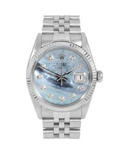 Rolex Datejust 36 mm Stainless Steel 16014-BL5232-CD