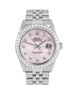 Rolex Datejust 36 mm Stainless Steel 16014-P5252-CD