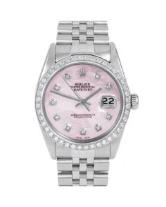 Rolex Datejust 36 mm Stainless Steel 16014-P5212-CD