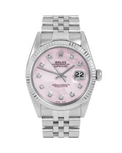 Rolex Datejust 36 mm Stainless Steel 16014-P5232-CD