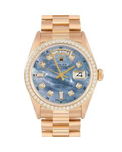 Rolex Day Date President 36 mm Yellow Gold 18038-BL5213-CD