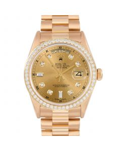 Rolex Day Date President 36 mm Yellow Gold 18038-C213-CD