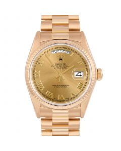 Rolex Day Date President 36 mm Yellow Gold 18038-C333-CD