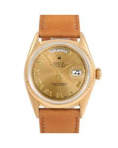 Rolex Day Date President 36 mm Yellow Gold 18038-C334D-CD