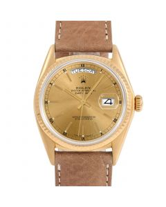 Rolex Day Date President 36 mm Yellow Gold 18038-C434E