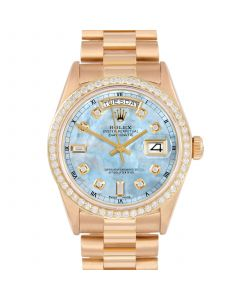 Rolex Day Date President 36 mm Yellow Gold 18038-LB5213-CD