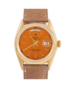 Rolex Day Date President 36 mm Yellow Gold 18038-O434E