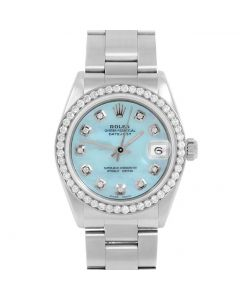 Rolex Datejust 31 mm Stainless Steel 6827-SS-LB5211-CD
