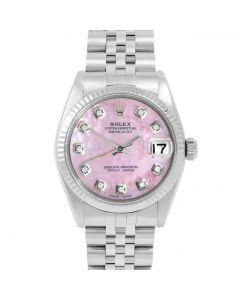 Rolex Datejust 31 mm Stainless Steel 6827-SS-P5232-CD